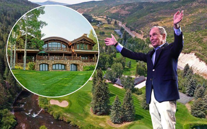 Michael Bloomberg and the Westlands in Meeker, Colorado (Credit: Bloomberg by Toni L. Sandys/The Washington Post via Getty Images)