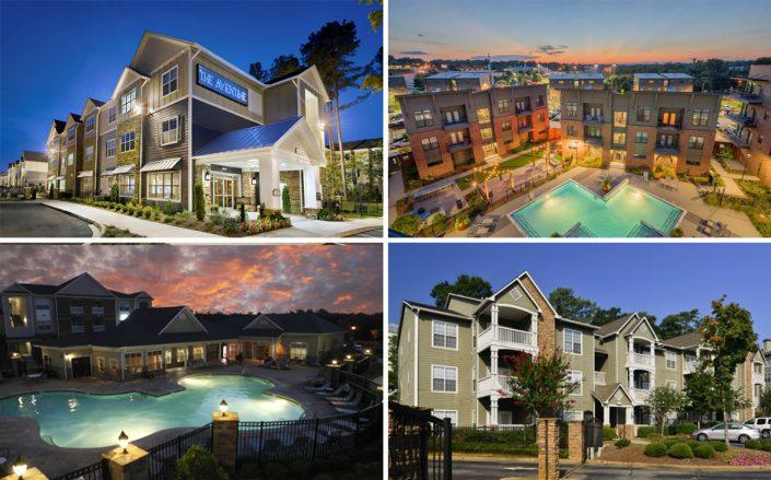 Gamma's multifamily properties located in the Southeast