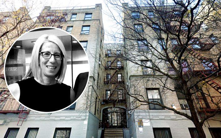 Manhattan Supreme Court Judge Lynn Kotler (inset) and 230 West 147th Street (Credit: NY Courts; Google Maps)