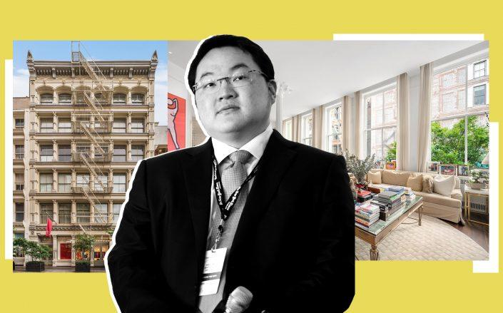 102 Prince Street and Jho Low (Credit: Modlin Group; Low by Michael Loccisano/Getty Images for New York Times)