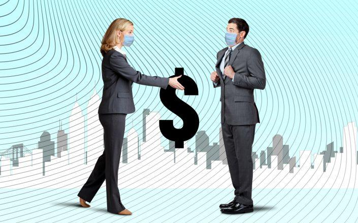 """""""Far fewer active buyers, far fewer deals, an increase of deals falling out of contract."""" Distressed asset investors are still waiting for their """"opportunity of the century"""" to materialize. (Credit: iStock)"""