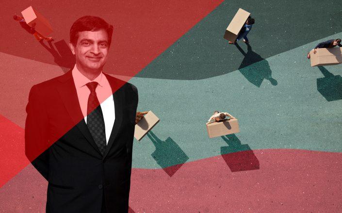 WeWork CEO Sandeep Mathrani (Mathrani by Neilson Barnard/Getty Images)
