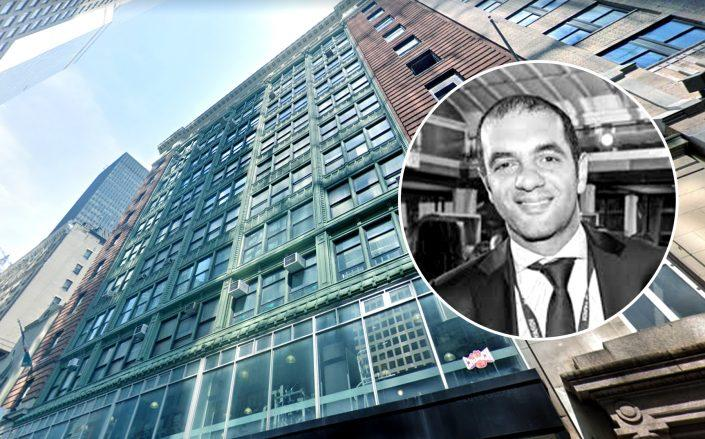 250 West 54th Street and Zar Property principal David Zar (Credit: Google Maps; Twitter)