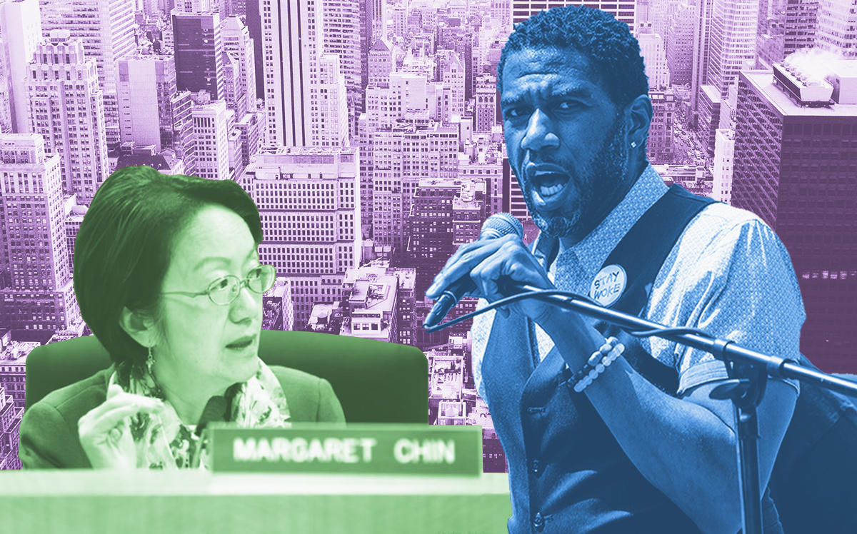 Margaret Chin and Jumaane Williams (NY City Council, Getty)
