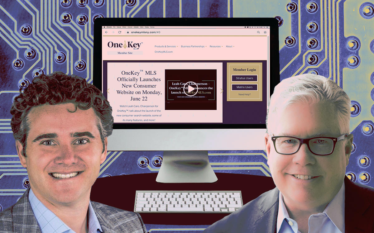 Matt Daimler, Richard Haggerty and the new OneKey MLS website