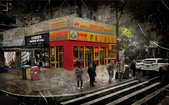 The Papaya King at 179 East 86th Street (Google Maps)