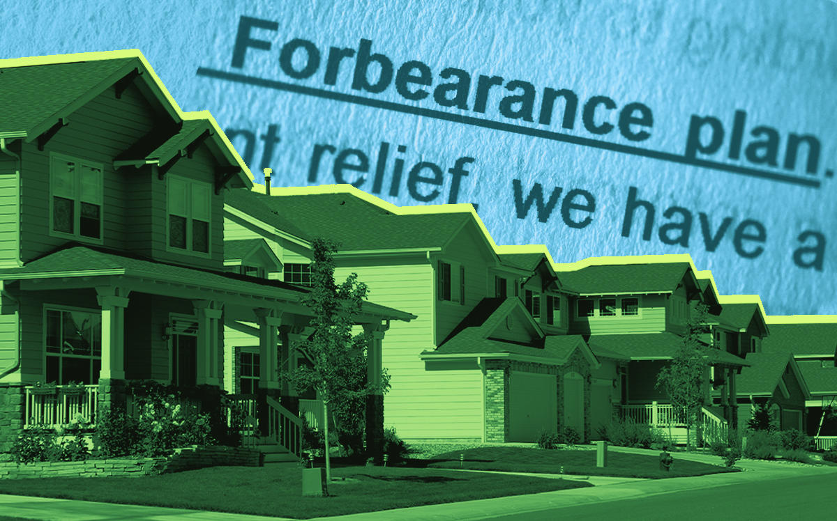 The share of U.S. residential mortgages in forbearance grew last week (iStock)