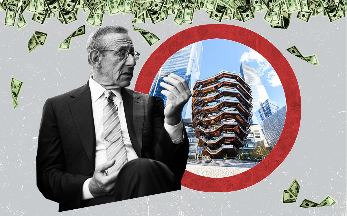 Stephen Ross and Hudson Yards (Getty, iStock)