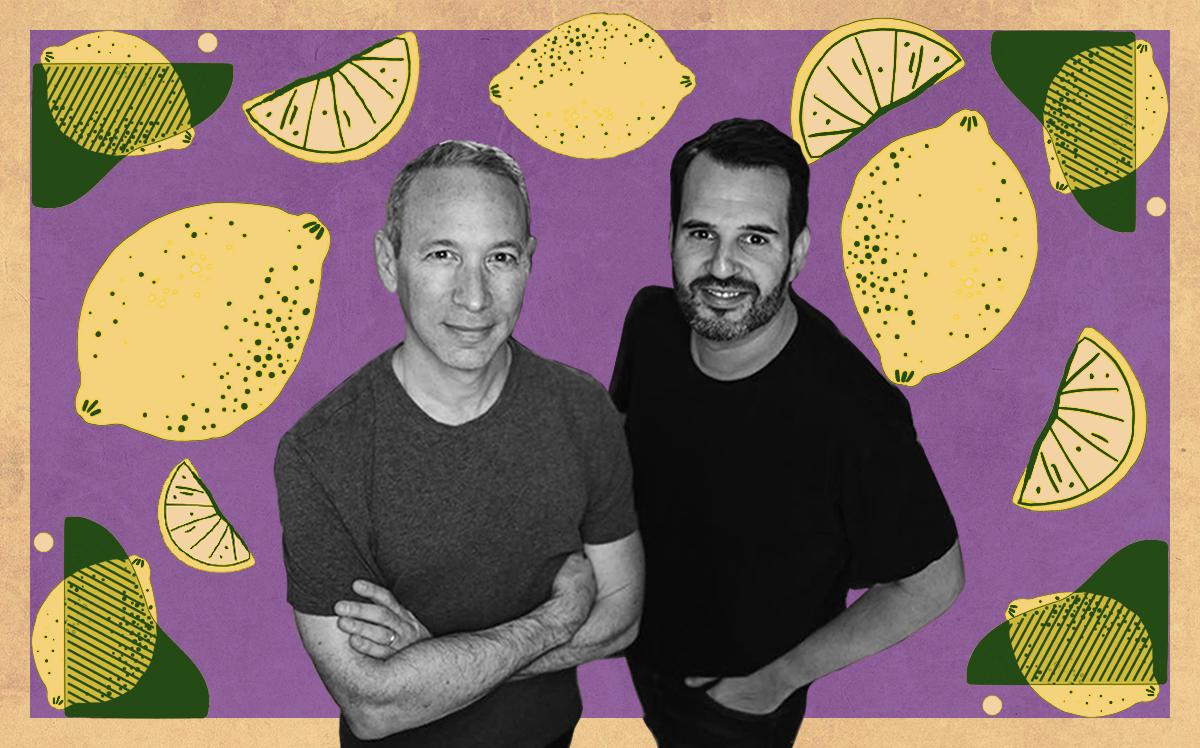 Lemonade co-founders Daniel Schreiber and Shai Wininger