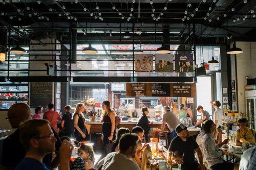 The Gotham West Market in Hell's Kitchen