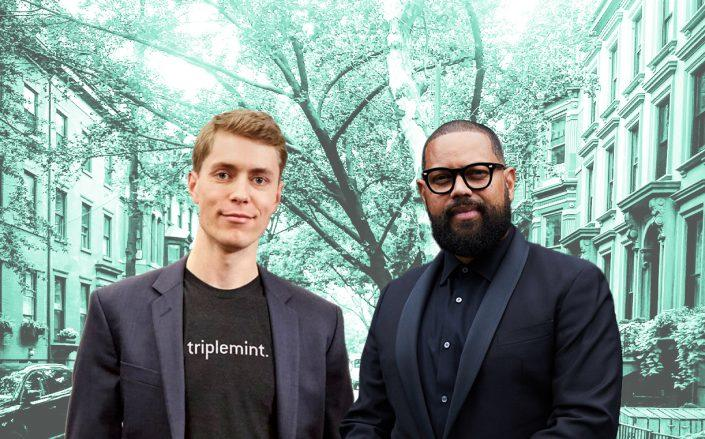 Triplemint CEO David Walker and Aaron Seawood (Triplemint, Wikipedia)