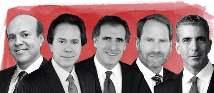 Arthur Zeckendorf, William Lie Zeckendorf, David Burris, Kent Swig, and Eric Hadar