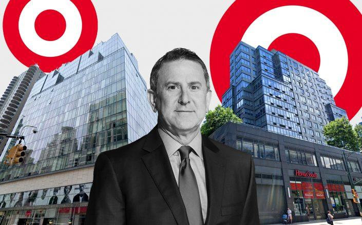 150 East 86th Street and 795 Columbus Avenue with Target CEO Brian Cornell (Google Maps)