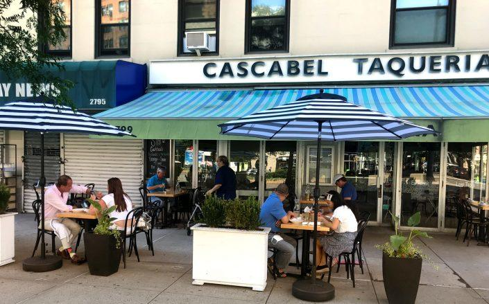 Cascabel Taqueria, near the corner of West 108th Street and Broadway (Alexi Friedman)