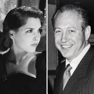 Dorothy Hart Hirshon and William Paley (Getty)
