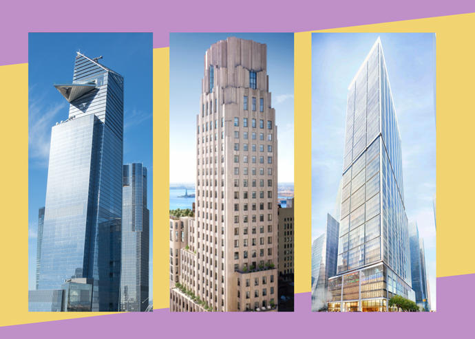 Nyc S Five Most Expensive Active Construction Sites The Real Deal