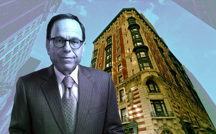 GFI Capital CEO Allen Gross and the James Hotel at 22 East 29th Street (Google Maps)