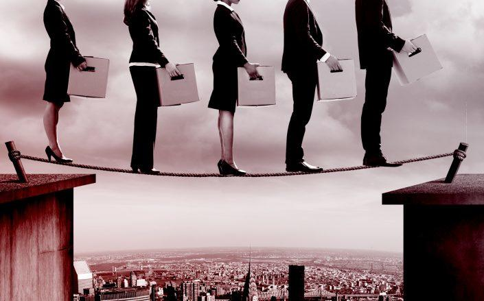 The rate of job loss in America has stabilized, even though businesses continue to hemorrhage employees at unprecedented levels. (iStock)