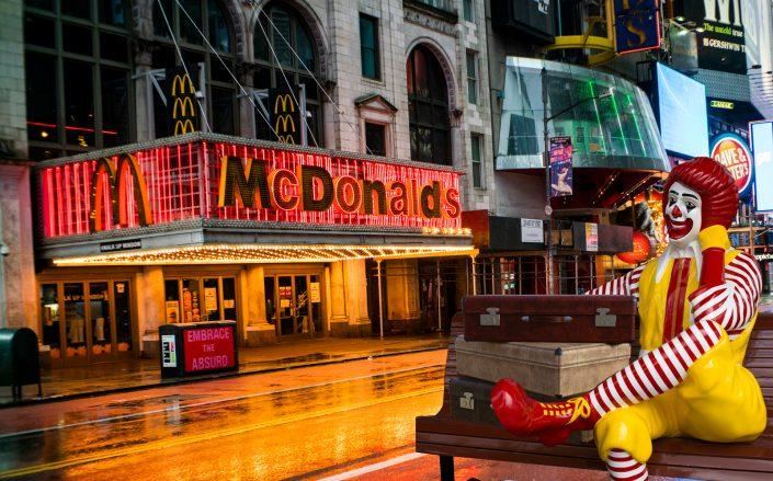 McDonald's on 220 West 42nd Street (Getty, iStock)