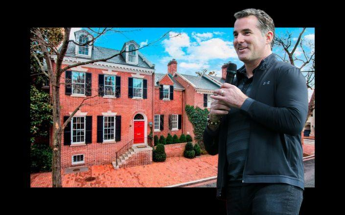 Under Armour CEO Kevin Plank and his Washington, D.C. home (Getty, Courtesy: Homevisit)