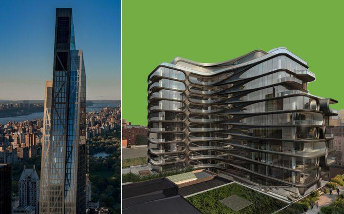 53 West 53rd Street and 520 West 28th Street (53W53, Zaha Hadid Architects)
