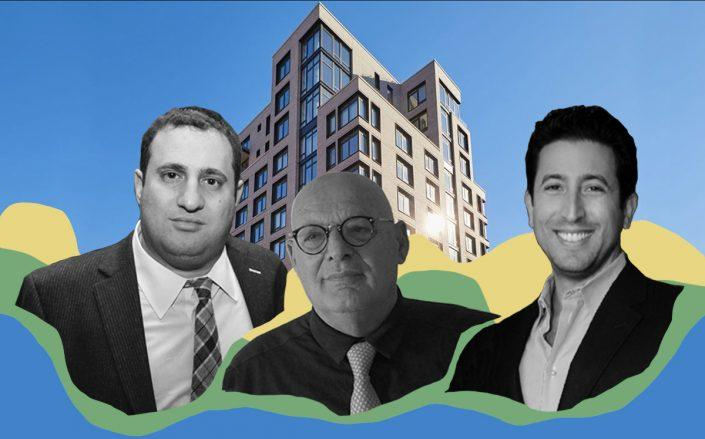 613 Baltic Street with JDS Development's Michael Stern and Largo's Nissim Ben-Nun and Nicholas Werner (Getty, BHS)