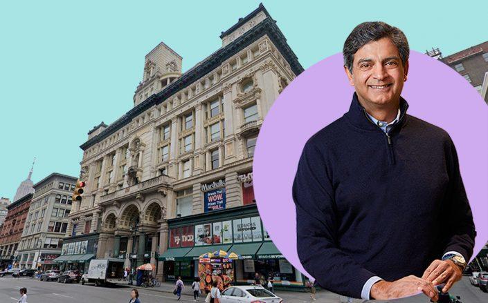 Sandeep Mathrani and 620 6th Avenue (Google Maps)