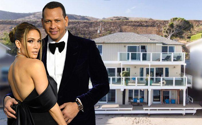 Jennifer Lopez, Alex Rodriguez and their Malibu flip (Getty, Realtor)