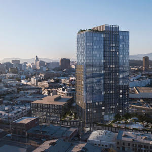 A rendering of 520 Mateo (Credit: Department of City Planning)