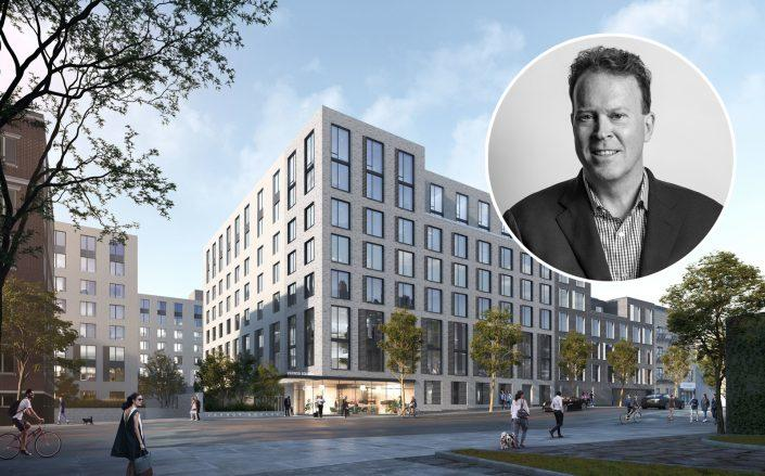 30-77 Vernon Boulevard and Cape Advisors CEO Craig Wood (All images via Cape Advisors)