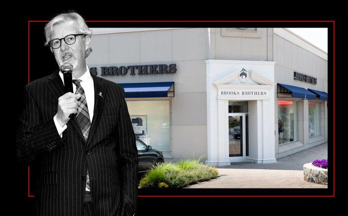 Brooks Brothers CEO Claudio Del Vecchio (Getty)