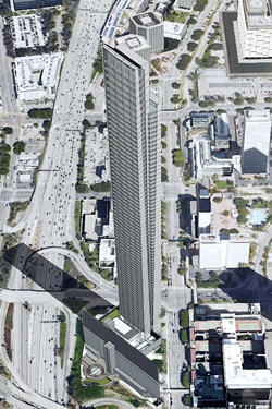 A rendering of 333 S. Figueroa Street