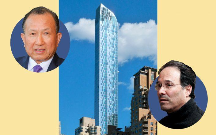 HNA Group's Guoqing Chen, One57 and  and Gary Barnett (Godsfriendchuck via Wikipedia)