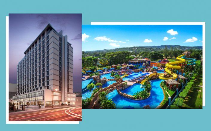 Hutton Hotel in Nashville and The Jewel Runaway Bay Beach Resort & Waterpark in Jamaica (Hutton, Booking)