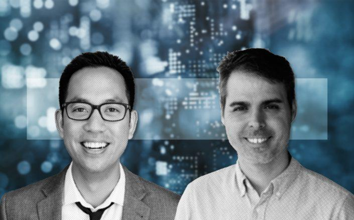 From left: Eric Wu and David Masters (Credit: Opendoor via CNBC, LinkedIn, and iStock)