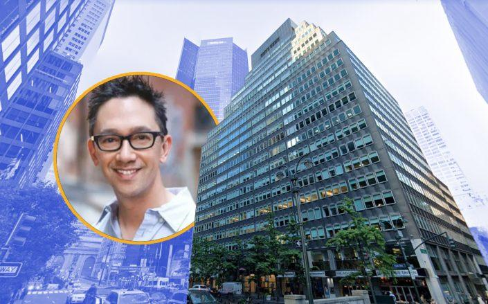 Keller Williams CEO Mark Chin and 99 Park Avenue (Google Maps)