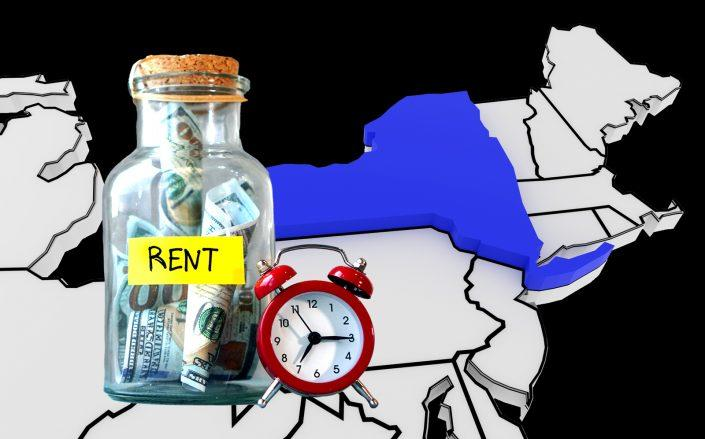 A July survey of Community Housing Improvement Program found that rent collections improved in NYC (iStock)