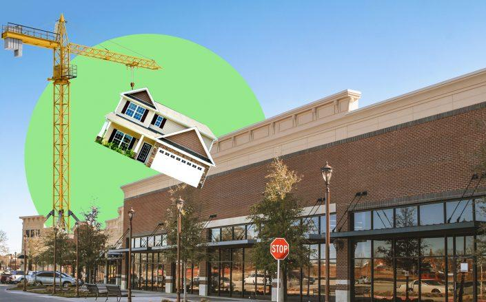 Malls are hemorrhaging retailers left and right. What will happen with all that space? Some could be converted into apartments and condominiums. (iStock)