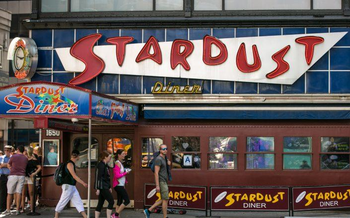 Ellen's Stardust Diner at 1650 Broadway (Photo by George Rose/Getty Images)