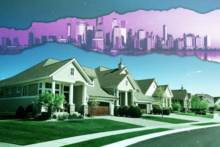 Agents see sales surge and New Yorkers escape to the suburbs (iStock)
