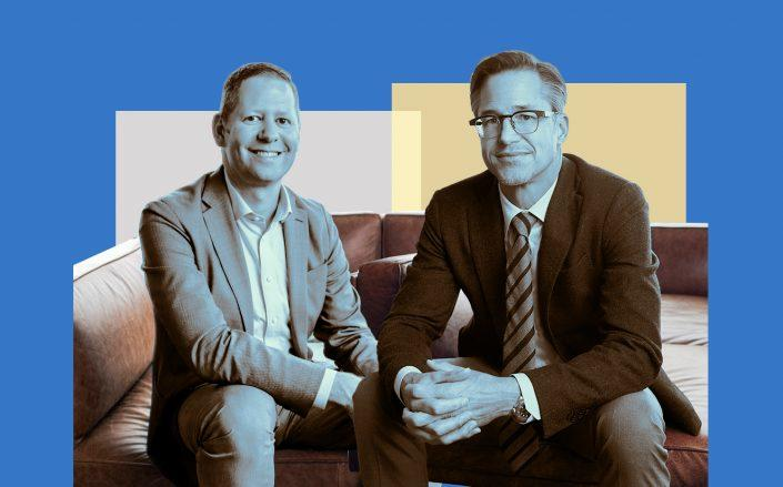 Zillow's Dan Spaulding and Rich Barton (Images via Zillow)