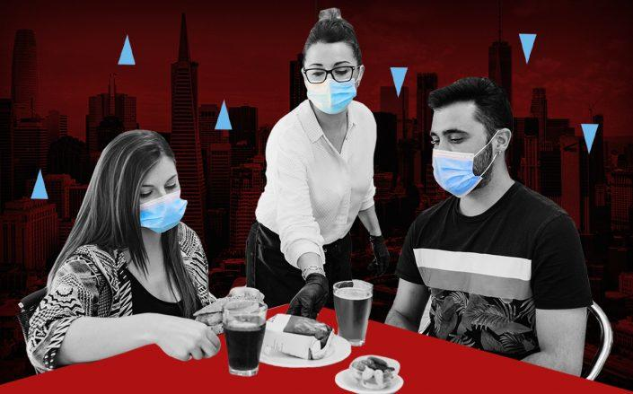 Eateries at two of the hardest-hit cities, San Francisco and New York, have been decimated during the pandemic (iStock)