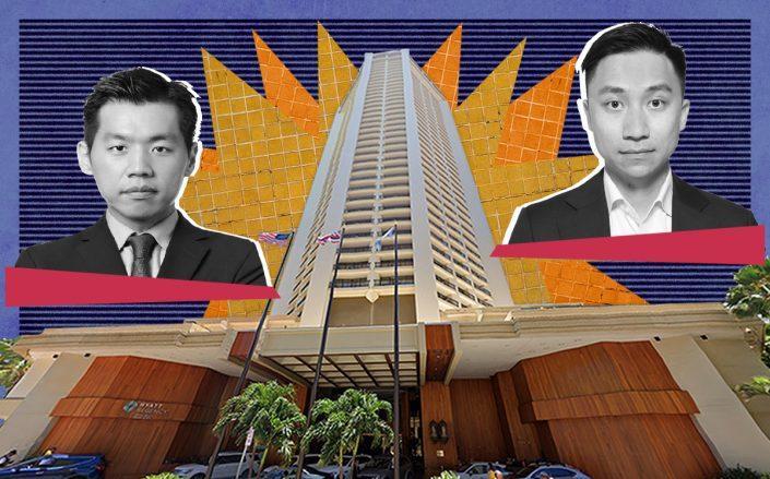 Ken TaeHern Kim, Zhongyuan Li and the Hyatt Regency Waikiki Beach (Linkedin, Google Maps)