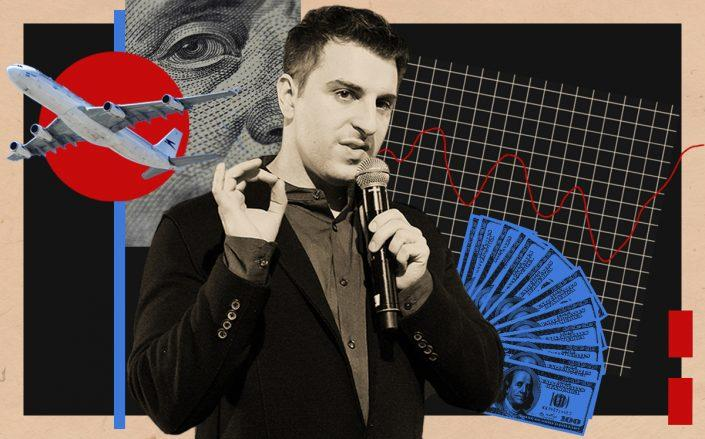 Airbnb's Brian Chesky (Getty)