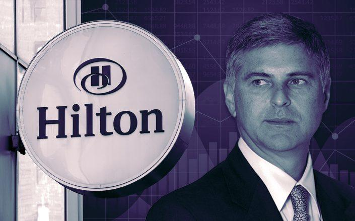 Hilton CEO Chris Nassetta (Getty, iStock)