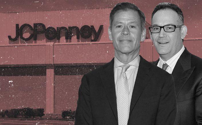 Brookfield's Ric Clark and Simon Property Group's David Simon (Getty)