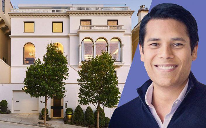 Nirav Tolia and his San Francisco home (Linkedin, Compass)