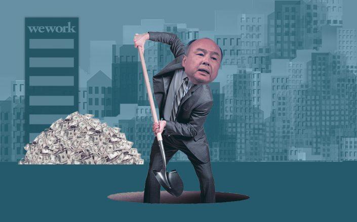 Photo illustration of Masayoshi Son (Getty, iStock)