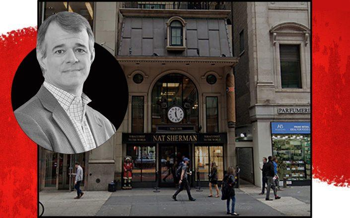 Nat Sherman Townhouse and Altria Group CEO Billy Gifford (Google Maps, Altria)