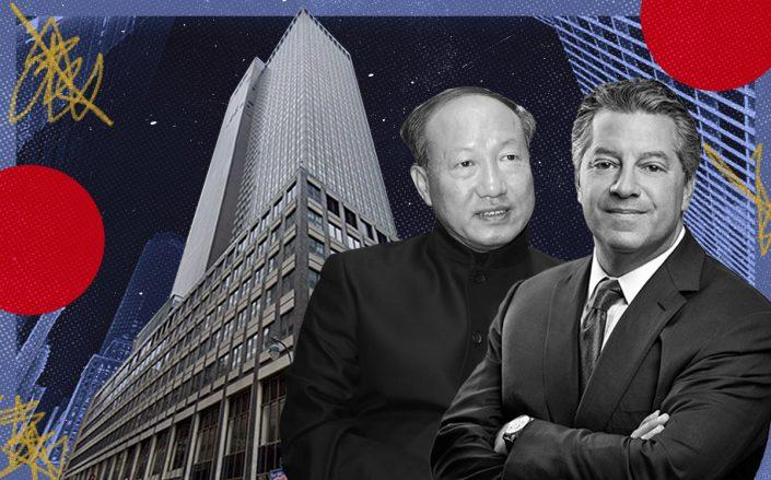 HNA Group chairman Chen Feng, SL Green CEO Marc Holliday and 245 Park Avenue (Getty, Google Maps, iStock)HNA Group chairman Chen Feng, SL Green CEO Marc Holliday and 245 Park Avenue (Getty, Google Maps, iStock)